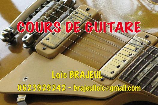 Cours de guitare sur Lille