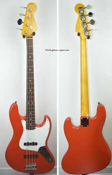 FENDER Jazz Bass 62' OFRD RARE 2008 Japon import