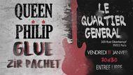 queen philip + glue + zir pachet