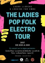 the ladies pop folk électro tour - laura llorens & looking for emma