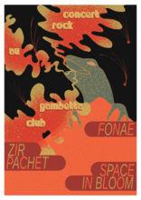 fonae, zir pachet, space in bloom + fried squid