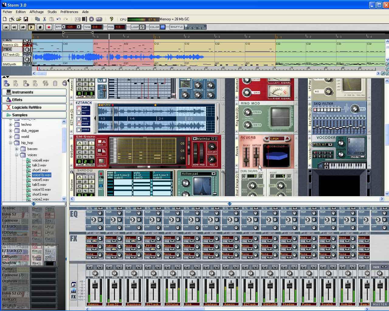 Arturia storm music studio zikinf for Logiciel home