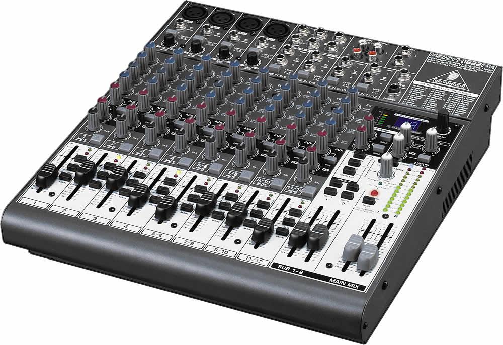 Behringer xenyx 1622fx zikinf - Table de mixage vinyle ...