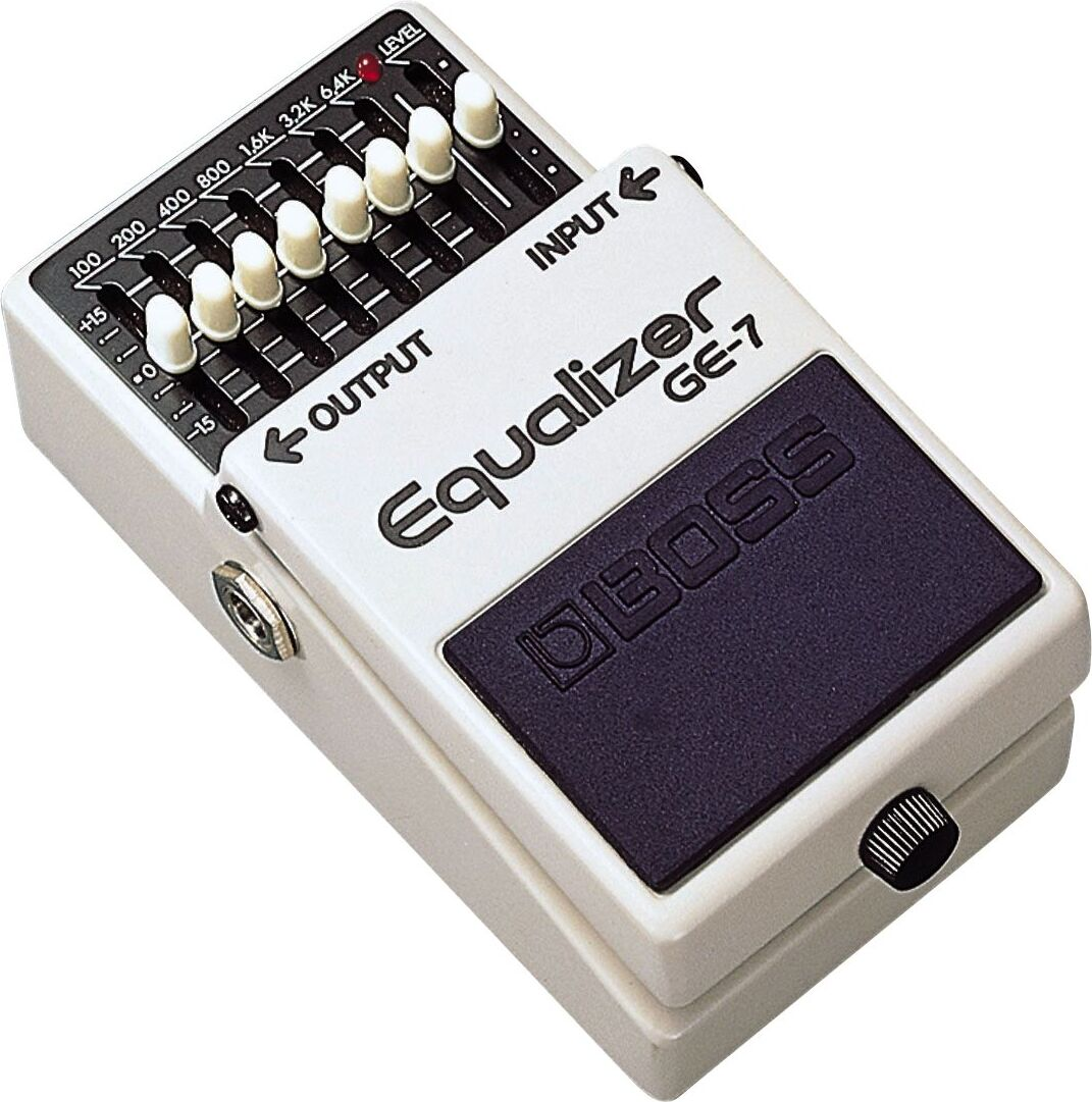Boss Equalizer GE-7 - Zikinf