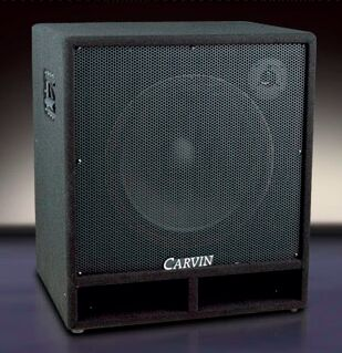 CARVIN BR115 BASS SPEAKER EXTENSION CABINET VINYL COVER (p/n ...
