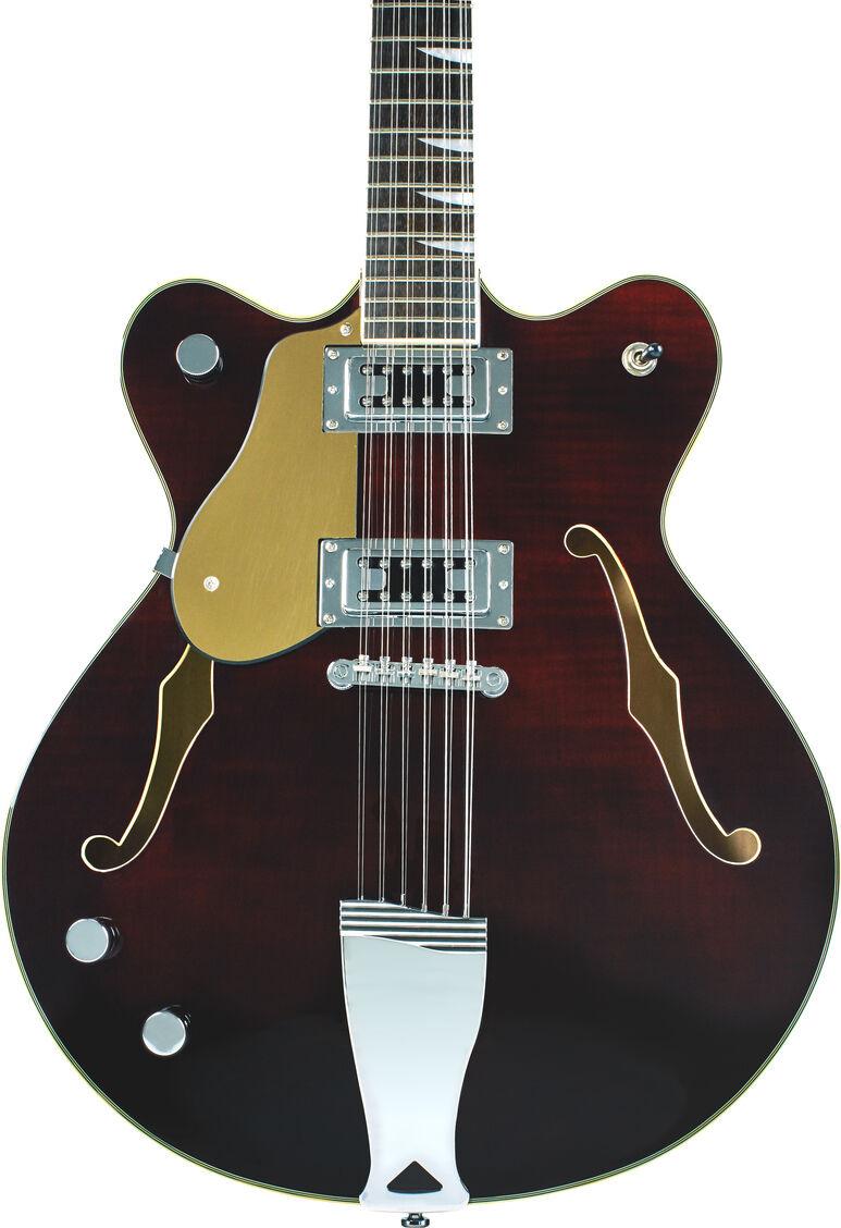 guitare gaucher demi caisse