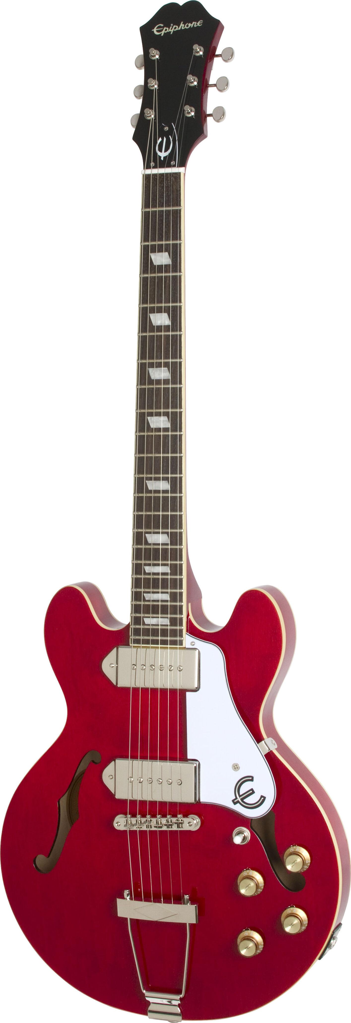 epiphone casino coupe guitare electrique cherry