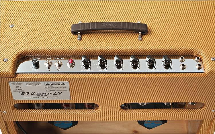 fender 39 59 bassman ltd zikinf. Black Bedroom Furniture Sets. Home Design Ideas