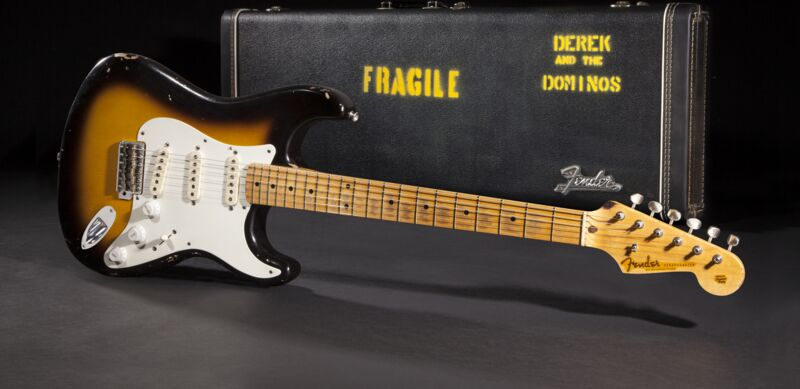 eric clapton brownie tribute Eric clapton bought the stratocaster® he affectionately nicknamed brownie secondhand at sound city in london on may 7, 1967, a few days before cream flew to new york to record their second album, disraeli gears it was a 1956 stratocaster® with a two-colored sunburst finish and a well-worn.
