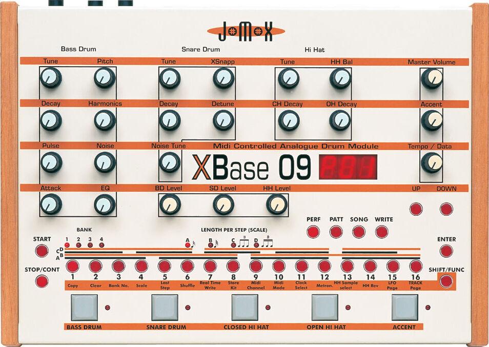 Jomox XBASE 09 - Zikinf