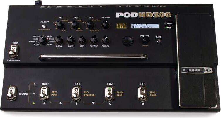line 6 hd300 preset list pdf