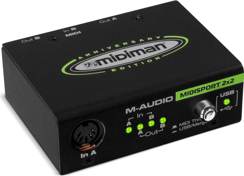 Miditech MidiFace II 1x1 MIDI/USB interface