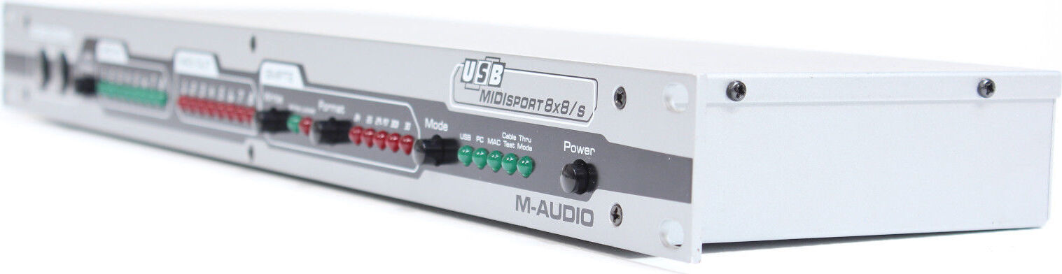 New Drivers: M-AUDIO MIDISPORT 8x8/s