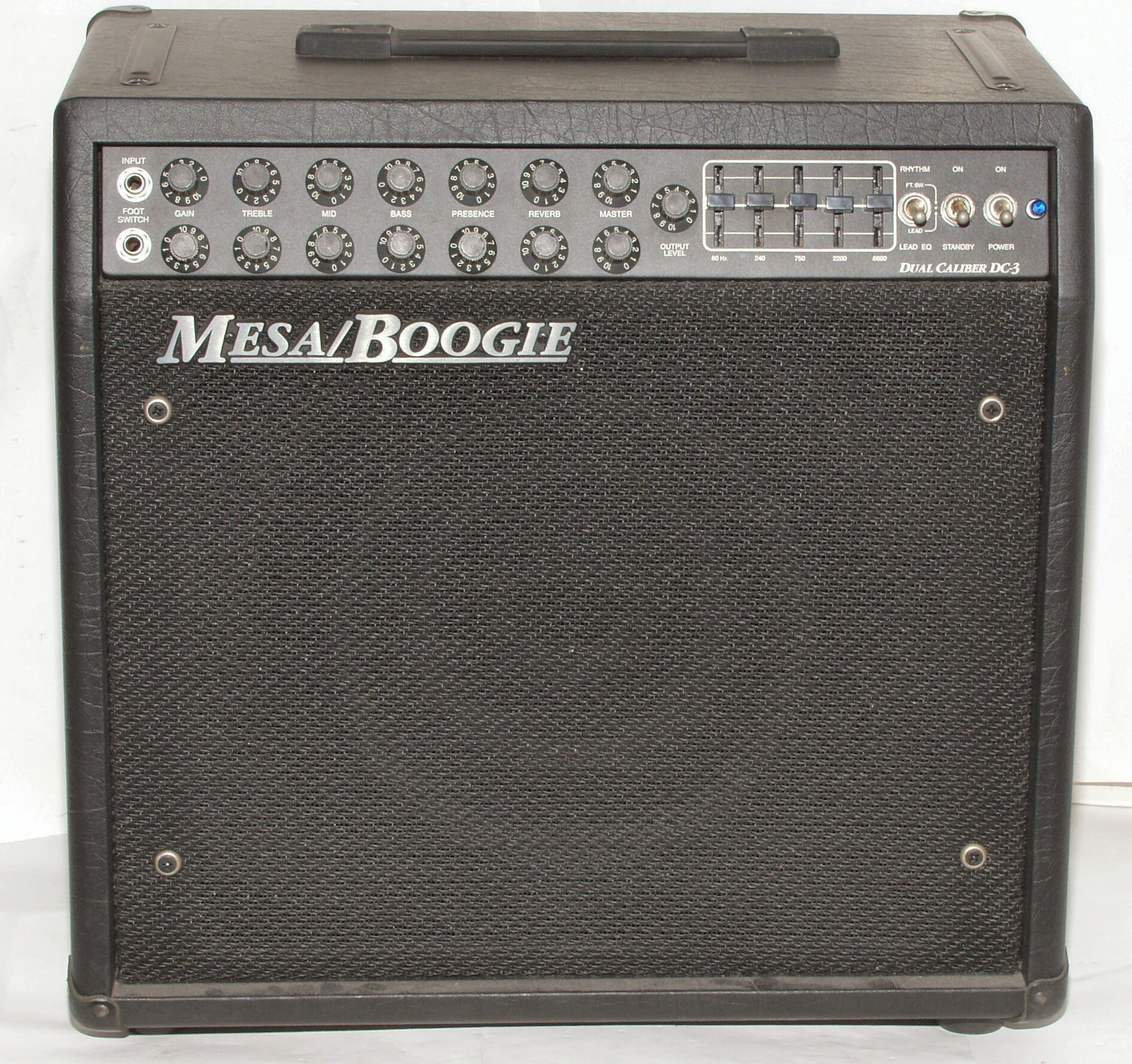 mesa boogie dual caliber dc 3 1x12 combo amp vinyl amplifier cover ebay. Black Bedroom Furniture Sets. Home Design Ideas