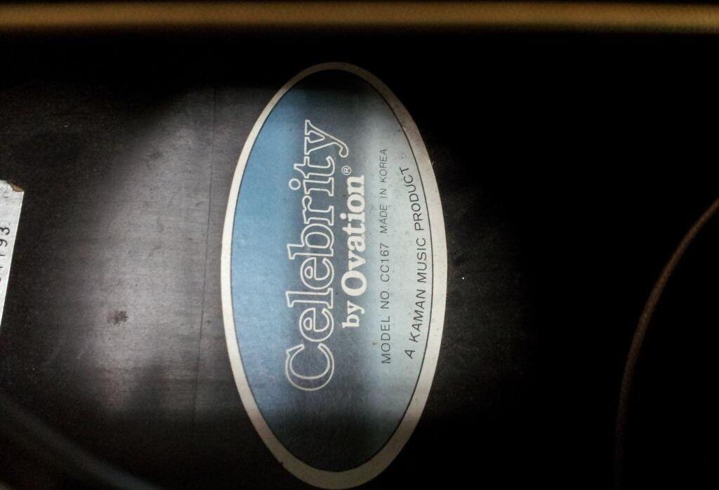 Acoustic Electric - Ovation Celebrity Cc