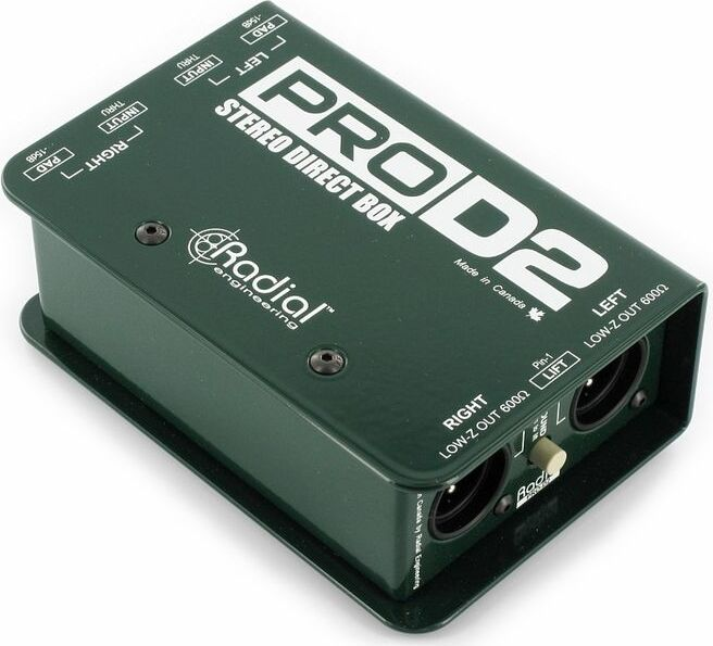Radial Pro D2 - Zikinf.