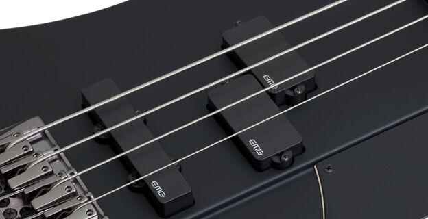 Schecter Nikki Sixx Signature Bass Zikinf