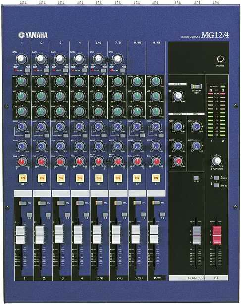table de mixage yamaha mg12