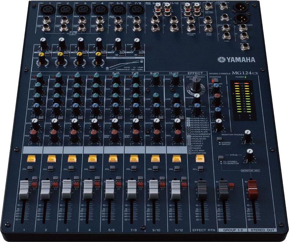 Yamaha mg124cx zikinf - Table de mixage amplifiee yamaha ...