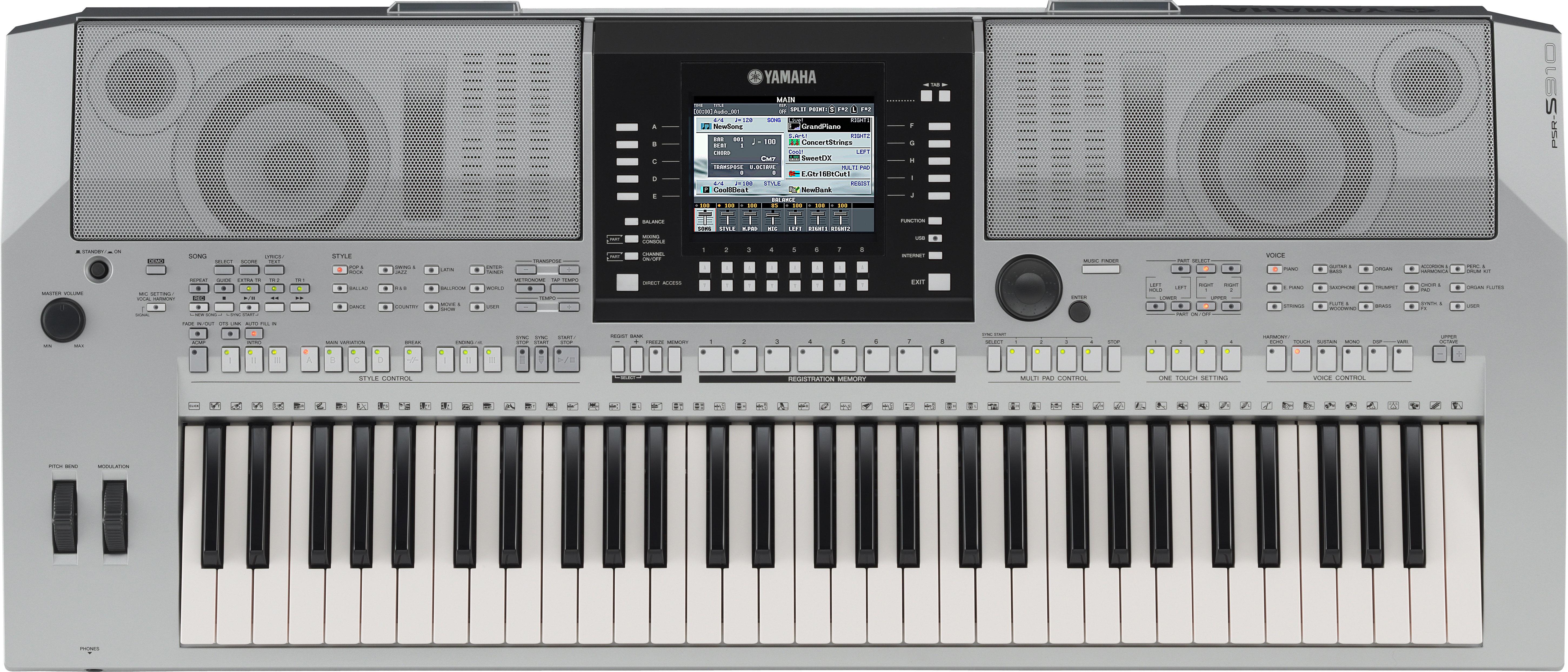 Yamaha psr s910 zikinf for Yamaha psr s