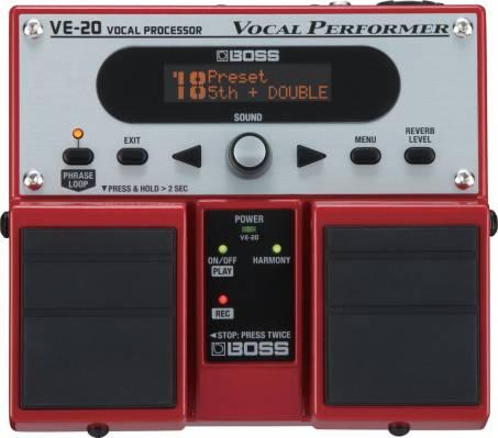 BOSS VE-20 : un multi-effets pour le chant - Zikinf